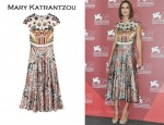 New On Net-A-Porter.com: Keira Knightley's Mary Katrantzou Dress