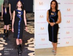 "Michelle Yeoh In Versace - ""The Lady"" Toronto Film Festival Press Conference"