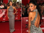 "Nicole Scherzinger In Randi Rahm - ""The X-Factor"" World Premiere"