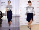 Olivia Wilde In Preen – The Variety Studio At Holt Renfrew