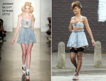 On The 'We Found Love' Music Video Set With Rihanna In Jeremy Scott