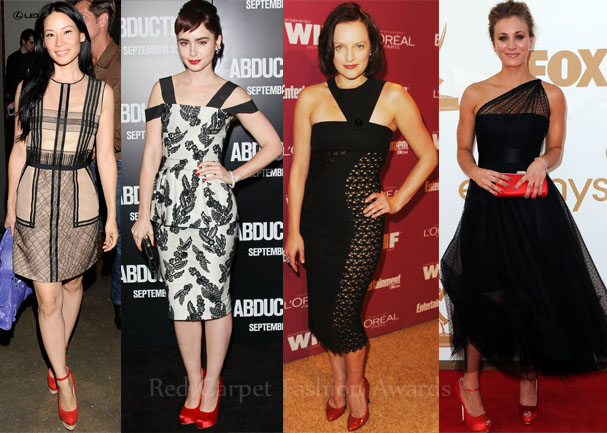 Celebrities Loved Shoes Red Carpet Fashion Awards