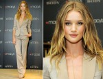 Rose Huntington-Whiteley In Burberry - Burberry Body Fragrance Launch