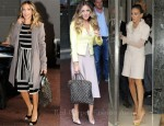 Sidewalk Style: Sarah Jessica Parker In Salvatore Ferragamo, L'Agence, Chanel & Chanel Couture