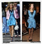 Who Wore Proenza Schouler Better? Sarah Jessica Parker or Alexa Chung
