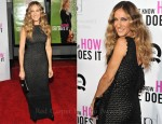 "Sarah Jessica Parker In Antonio Berardi - ""I Don't Know How She Does It"" New York Premiere"