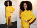 Solange Knowles In Acne - Rimmel Celebrates 10 Year Partnership With Kate Moss