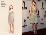 Taylor Swift In Elie Saab - 5th Annual ACM Honors
