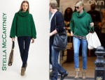 In Charlize Theron's Closet - Stella McCartney Wool Sweater