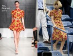 US Open Style: Anna Wintour In YSL