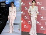 "Vivian Hsu In Christian Dior & Lanvin - ""Warriors Of The Rainbow: Seediq Bale"" Venice Film Festival"
