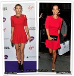 Who Wore Alexander McQueen Better? Maria Sharapova or Louise Redknapp
