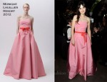 Zooey Deschanel In Monique Lhuillier - 2011 Emmy Awards