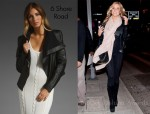 In Kristin Cavallari's Closet - 6 Shore Road Leather Jacket & Alexander Wang Rocco Satchel