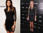 In Kristin Cavallari's Closet - ASOS Lace Dress With Scalloped Neck