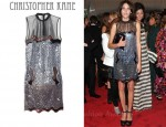 In Alexa Chung's Closet - Christopher Kane Alexa Sequined Tulle Dress