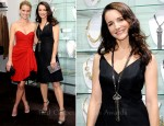 Kristin Davis In Vintage Pauline Trigere - Miriam Haskell for Decades Uptown | Downtown Collection Launch Event