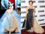 Andrea Riseborough In Christian Dior Couture - 'W.E.' London Film Festival Premiere