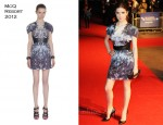 Anna Kendrick In McQ - '50/50' London Film Festival Premiere