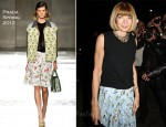 Anna Wintour In Prada - Dw by Kanye West Spring 2012 Presentation