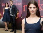 Ashley Greene In Peter Som - 'The Twilight Saga: Breaking Dawn - Part 1' Brussels Photocall