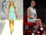 Ashley Greene In Versace - 'The Twilight Saga: Breaking Dawn – Part 1′ Stockholm Fan Event