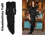 In Jessica Biel's Closet - Giambattista Valli Silk Jersey Gown