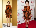 Camilla Belle In Gucci - The Shakespeare Center Of Los Angeles' Crystal Quill Awards