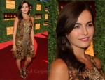 Camilla Belle In Ralph Lauren - Veuve Clicquot Polo Classic Event