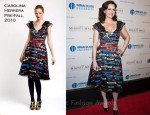 Carla Gugino In Carolina Herrera - 'The Mighty Macs' World Premiere