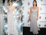 Catherine Zeta Jones In Elie Saab Couture - 6th Annual 'A Fine Romance' Benefit
