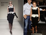 Cheryl Cole In Moschino - 'Shrek the Musical'