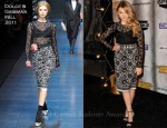 Chloe Moretz In Dolce & Gabbana - Spike TV's Scream 2011 Awards