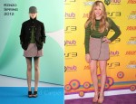 Chloe Moretz In Kenzo - Variety's 5th Annual Power Of Youth Event