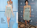 Elena Anaya In Elie Saab Couture - 'The Skin I Live In' New York Screening