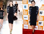 Elena Anaya In Miu Miu - 'The Skin I Live In' New York Film Festival Presentation