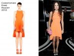 Eliza Doolittle In Christopher Kane - Le Caprice 30th Anniversary Dinner