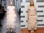 Elizabeth Olsen In Chanel Couture - 'Martha Marcy May Marlene' London Film Festival Premiere