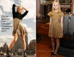 Elle Fanning In Chloe Sevigny for Opening Ceremony - Woolrich John Rich & Bros. Photo Exhibition
