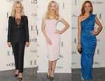 Elle's 18th Annual Women in Hollywood Tribute Red Carpet Round Up