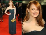 Emma Stone In Lanvin - 'The Help' Hamburg Premiere