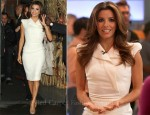 Eva Longoria In Antonio Berardi - Good Morning America