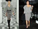 Eva Longoria In Victoria Beckham - 'The Joy Behar Show'