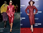 Evan Rachel Wood In Gucci - 'The Ides Of March' New York Premiere