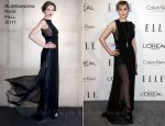 Evan Rachel Wood In Alessandra Rich - Elle's 18th Annual Women in Hollywood Tribute
