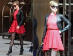 Sidewalk Style: Evan Rachel Wood's Preen Line Dress