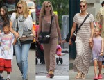 Heidi Klum Loves Her Newbark 'Lauren' Leather and Calf Hair Shoulder Bag