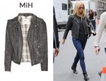 In Gwyneth Paltrow's Closet - MiH Distressed Leather Biker Jacket