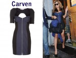 In Beyonce Knowles' Closet - Carven Bustier Dress