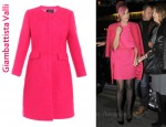 In Katy Perry's Closet - Giambattista Valli Collarless Coat